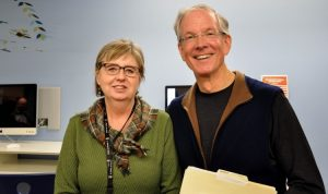 Dr. Margaret Macintyre Latta and Dr. David Hansen